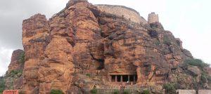 cave temple in Karnataka, Badami fort, Bdami, Badami Sightseeing