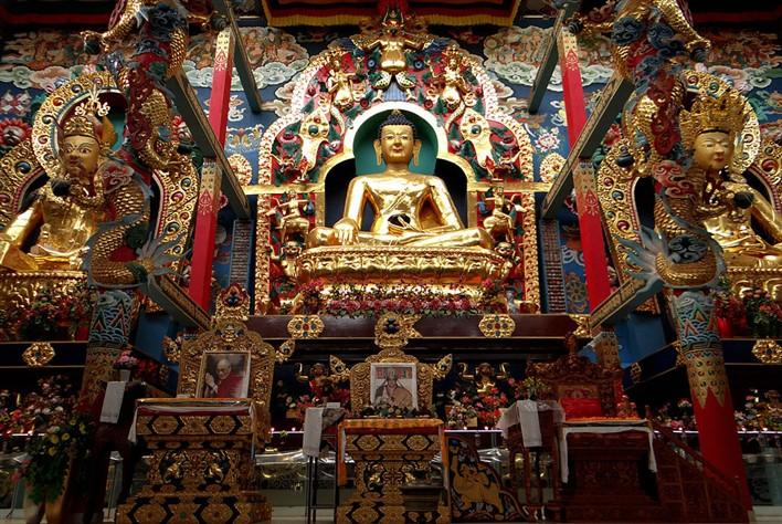 Golden Temple, Bylakuppe. Photographer Sahyadri H S