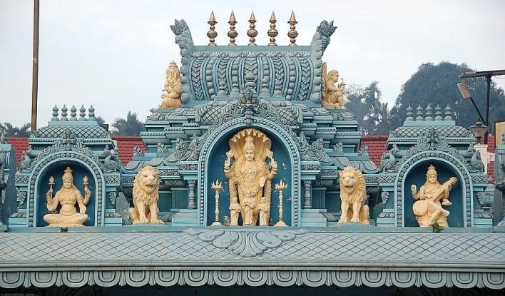 Annapoorneshwari Temple Main Gopra