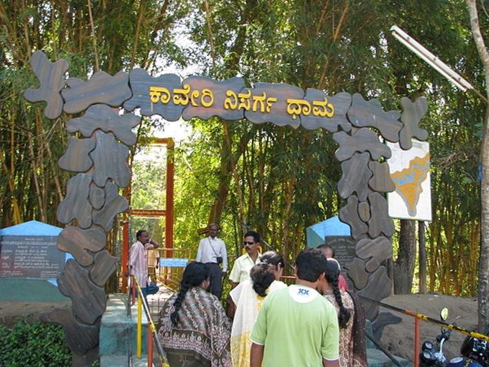 Nisargadhama Falls, Nisargadhama, local sightseeing in Coorg