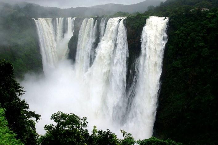 Jog Falls. Image courtesy Sateesh Mane