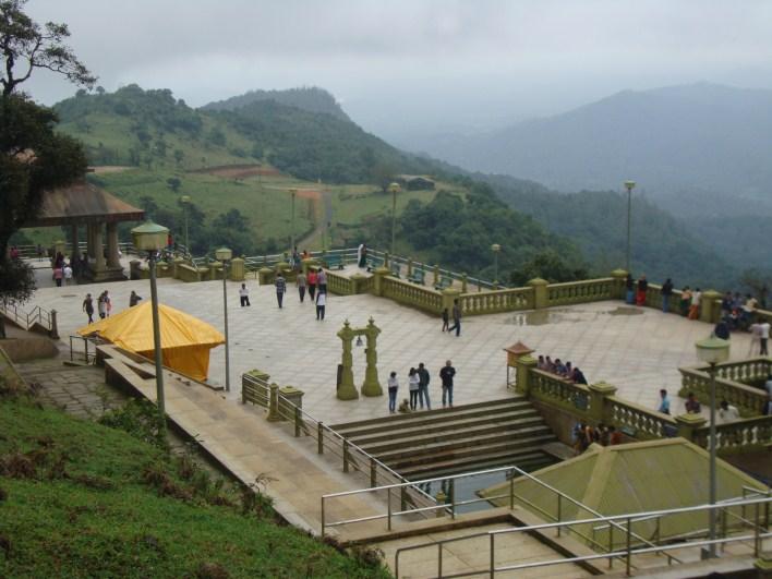 Kaveri tours, Talacauvery top view, near Virajpet