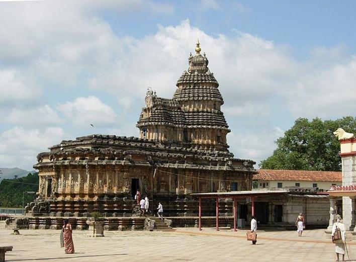 Sringeri, Vidyashankara Temple