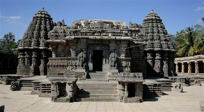 Hoysalas, Keshava Temple, Somanathapura. Photographer Purshi