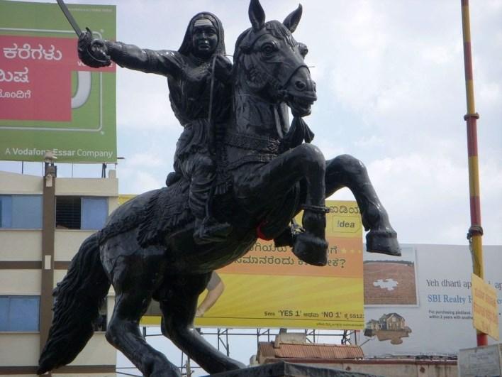 Rani Chennamma Statue, Hubli