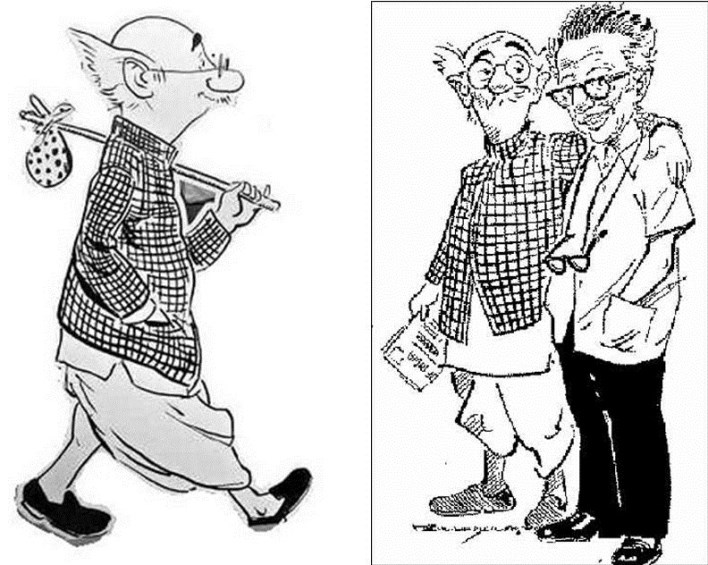 RX Laxman. Copyright owned by RK Laxman