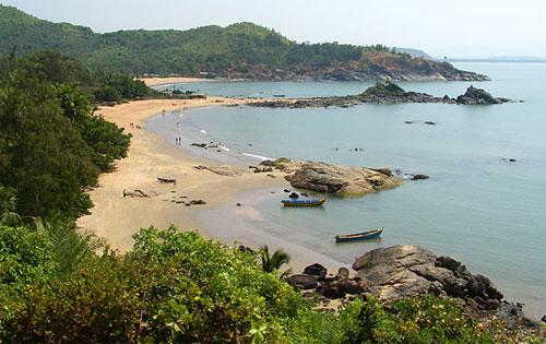 Om Beach, Gokarna, near Bangalore