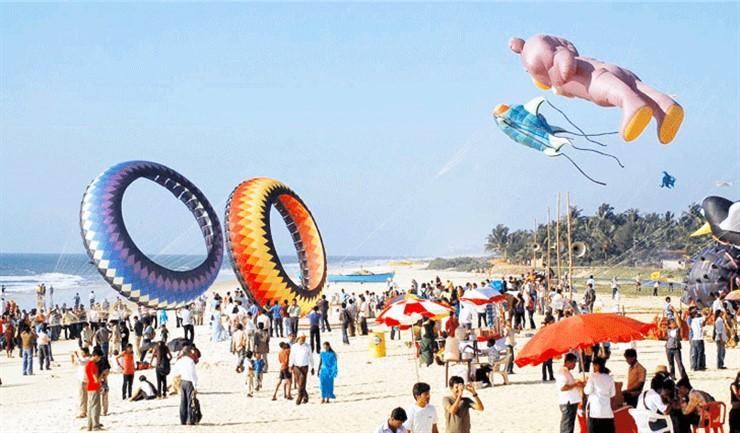 Kite Festival at Panambur Beach, Mangaluru