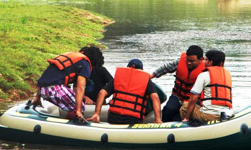 Rafting near Bangalore