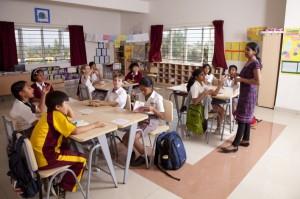 A class in Candor International School, Bangalore