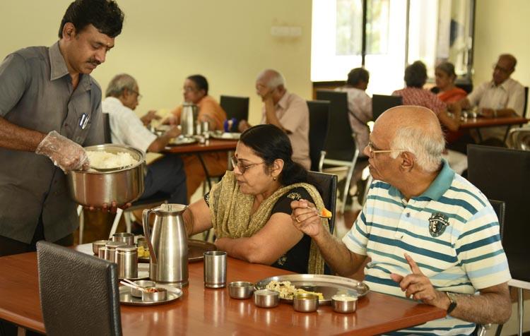 serene retirement home, bangalore
