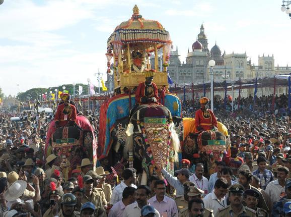 mysore dasara event, Mysore Dasara, Mysore Dasara Tour Packages, Mysore Dasara Jamboo Savari