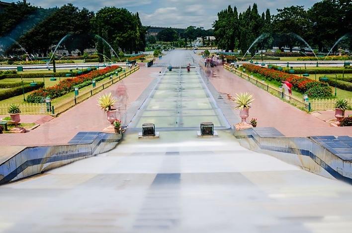 Brindavan Gardens, Mysore Sightseeing