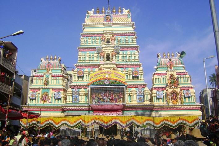 Dharmarayaswamy temple, Bangalore. Photographer: Thigala4u