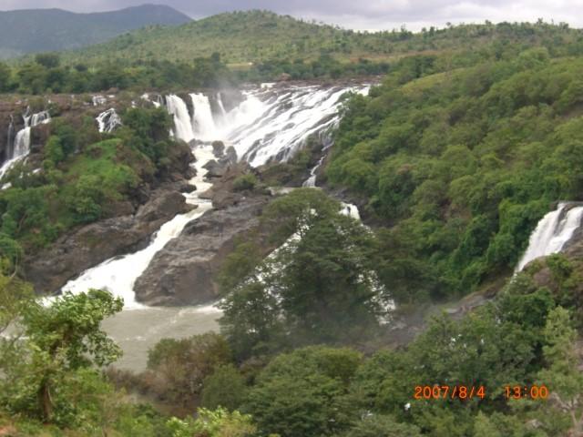 Barachukki waterfalls, Shivanasamudra
