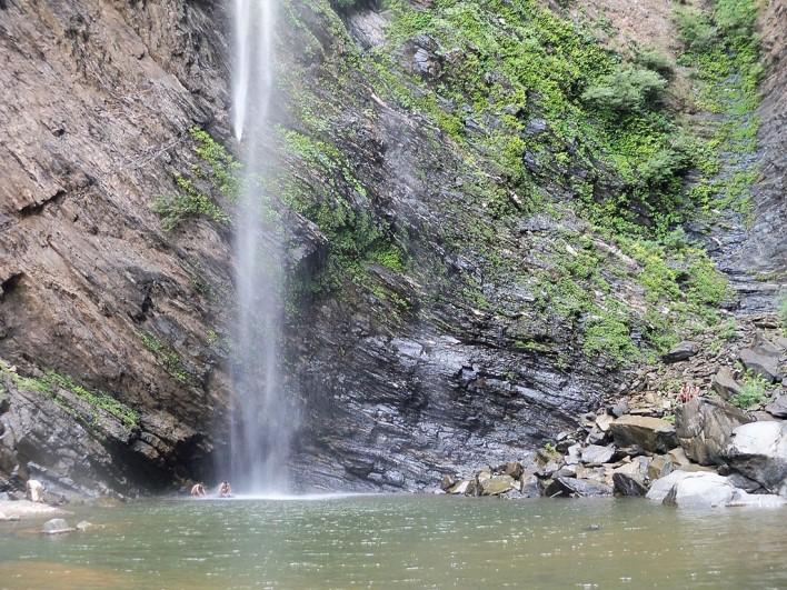 Koodlu Theertha Falls, Hassan. Photographer Balaji Rakonda