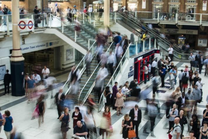London Metro. Photographer Anna Dziubinska
