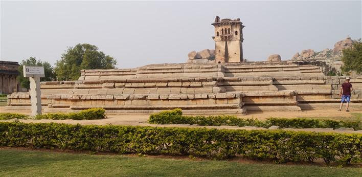 Royal Enclosure, Basement of Queen's Palace, Lotus Mahal, Hampi. Copyright Karnataka.com