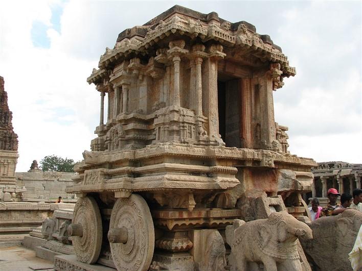 Stone Chariot at Vittala Temple, Hampi