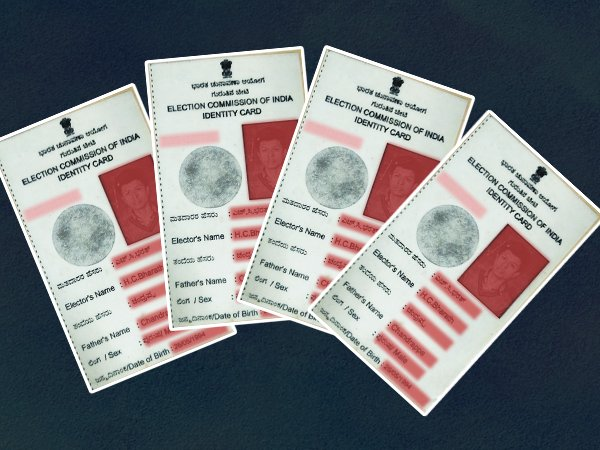 voter id card in karnataka