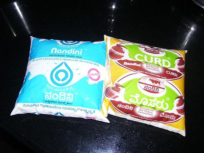 KMF, Karnataka Milk Fedreation, nandini milk products